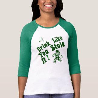 Camiseta Bebida