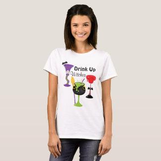 Camiseta Bebida acima das bruxas