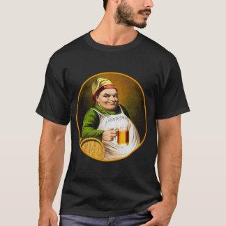 Camiseta Bebida saudável alemão do bebedor de cerveja da