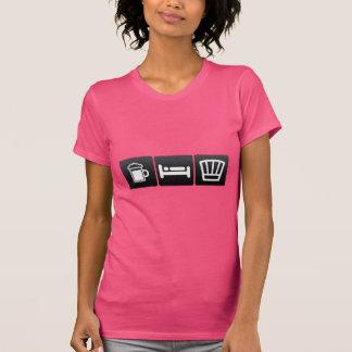 Camiseta Bebida, sono e desgaste do cozinheiro chefe