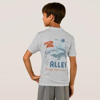 Camiseta Beco do jacaré do campeão da luta do jacaré retro
