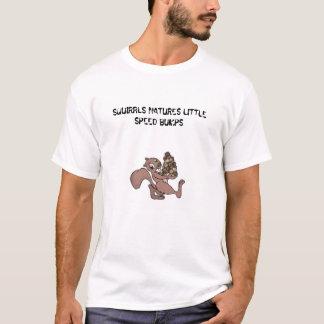 Camiseta Beercan, NATUREZAS de SQUIRRLS POUCAS COLISÕES de