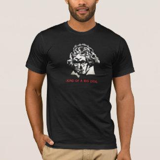 Camiseta Beethoven - tipo de uma grande coisa