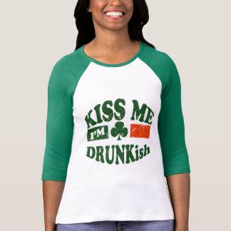 Camiseta Beije-me Im Drunkish