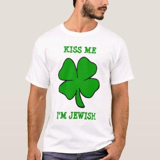 Camiseta Beije-me, mim são judaico