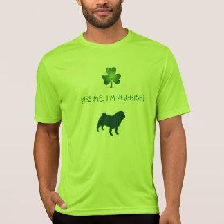 Camiseta BEIJE-ME, mim são T-SHIRT de PUGGISH