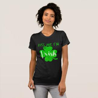 Camiseta beije-me o irlandês im