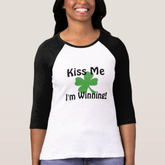 Camiseta BEIJE-ME que eu ESTOU GANHANDO!