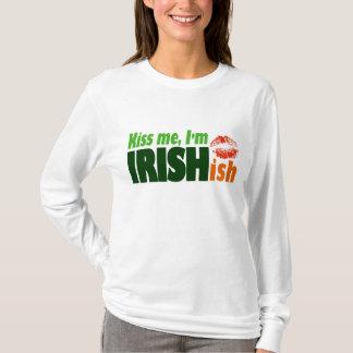 Camiseta Beije-me que eu sou Irishish