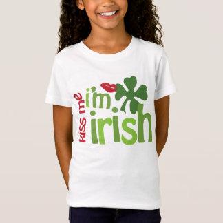 Camiseta Beije-me que eu sou irlandês