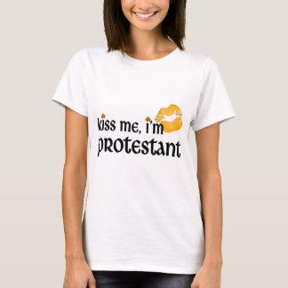 Camiseta Beije-me que eu sou protestante