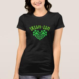Camiseta beijo irlandês do amor do ish