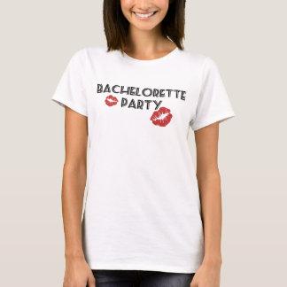 Camiseta Beijos da festa de solteira