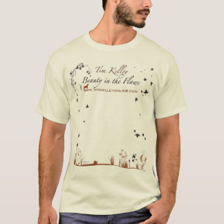 Camiseta Beleza de Tim Kelley nas falhas