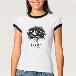 Camiseta Beleza natural do cabelo