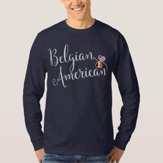 Camiseta belga dos corações de Entwinted do