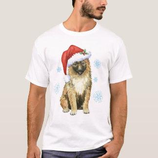Camiseta Belga Laekenois do Natal