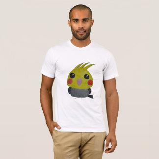 Camiseta Belle do オカメインコオウム, o cockatiel, design original