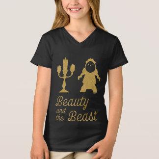 Camiseta Belle | Lumiere e Cogsworth