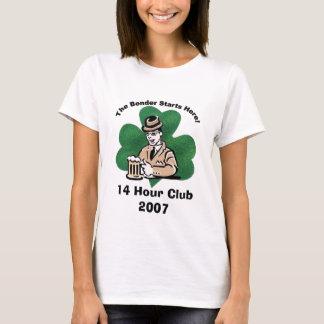Camiseta bender2, clube 2007 de 14 horas