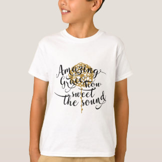 Camiseta Benevolência surpreendente, como doce o som