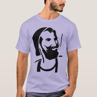 Camiseta Berber e escaravelho de fumo com sua cor