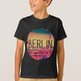 Camiseta Berlin, Love This City series, circle
