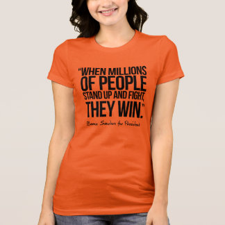 Camiseta Bernie diz bastante