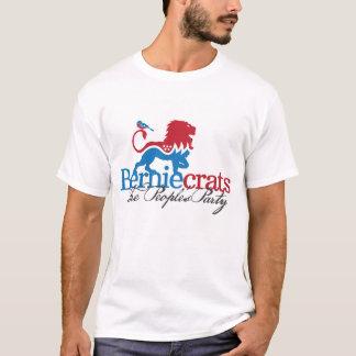 Camiseta Berniecrats - leão e pássaro