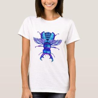 Camiseta Besouro de veado azul