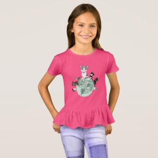 Camiseta Bethie e amigos: Adote um gatinho (ou dois!)