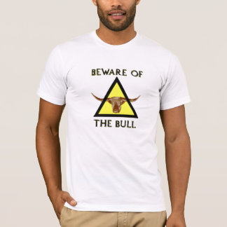 Camiseta Beware do TShirt de Bull