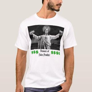 Camiseta Beware lucros do ofFalse! ,