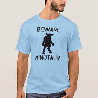 Camiseta Beware Minotaur (o preto)
