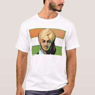 Camiseta Bhagat Singh: Um herói revolucionário