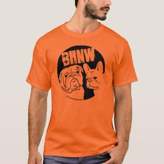 Camiseta BHNW design do buldogue inglês & francês de 2013 -