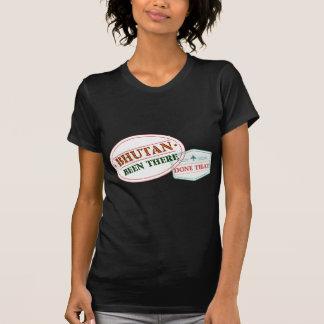 Camiseta Bhutan feito lá isso