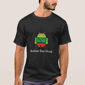 Camiseta Biafran Sun Droid