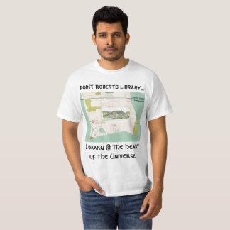 Camiseta Biblioteca FunRaiser de Roberts do ponto