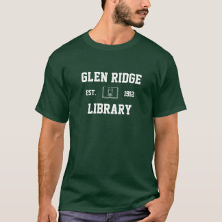 Camiseta Biblioteca pública de Ridge do vale