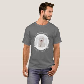 Camiseta Bichons é t-shirt dos anjos