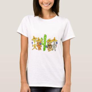 Camiseta Bichos mexicanos da festa