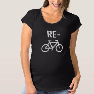Camiseta Bicicleta da bicicleta do reciclar