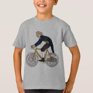 Camiseta Bicicleta da equitação de Thomas Jefferson com