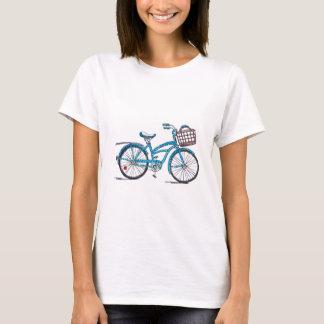 Camiseta Bicicleta das bolinhas da aguarela