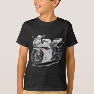 Camiseta Bicicleta do branco de CBR 600