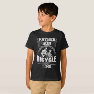 Camiseta Bicicleta do filho do pai