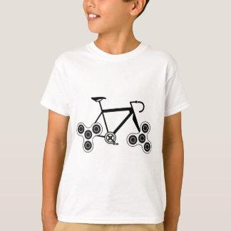 Camiseta Bicicleta do girador da inquietação