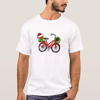Camiseta bicicleta do xmas