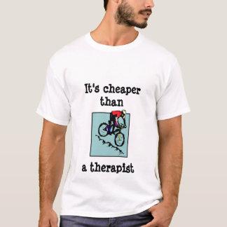 Camiseta bicicleta, é um terapeuta mais barato do thana